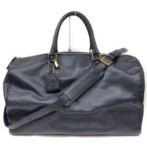 CHANEL XXL 100% AUTH leather Boston travel/gym bag